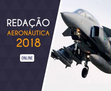 REDAÇÃO AERONÁUTICA 2018