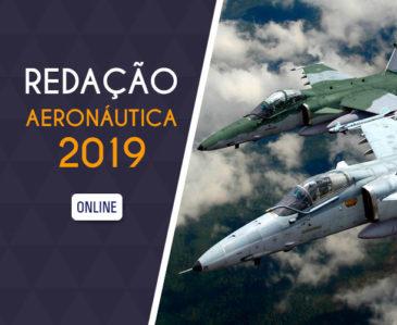 REDAÇÃO AERONÁUTICA 2019