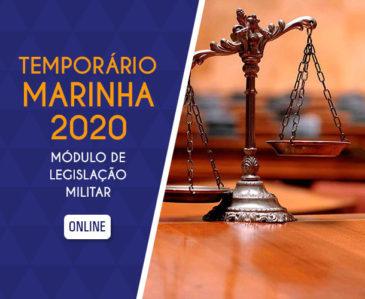 Módulo de Legislação Militar – Temporário Marinha 2019 EAD