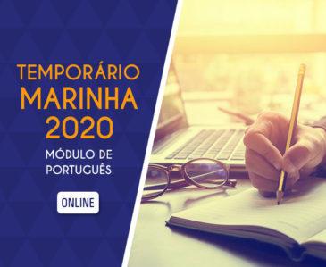 Módulo de Português – Temporário Marinha 2019 EAD