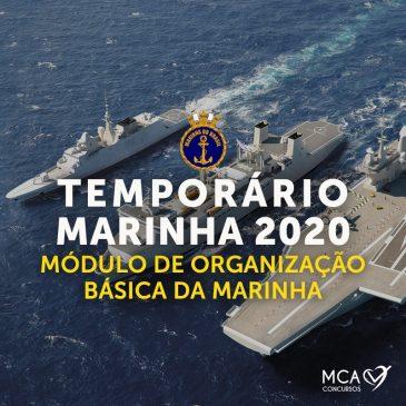 Módulo de Organização Básica da Marinha – Temporário Marinha 2019 EAD