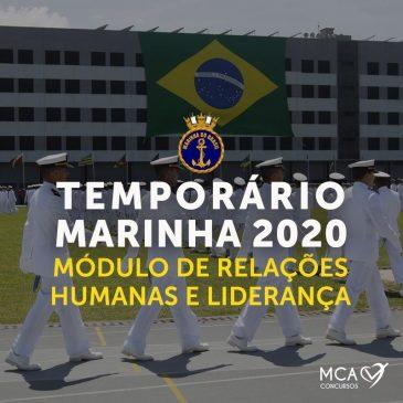 Módulo de Relações Humanas e Liderança – Temporário Marinha 2019 EAD