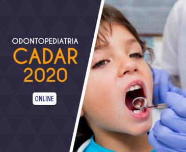 Odontopediatria – CADAR 2020