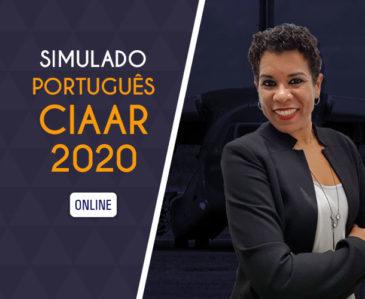 Português CIAAR – Simulado