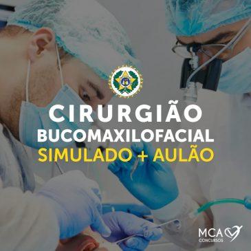 Bucomaxilofacial – Simulado+ Aulão