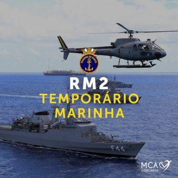 RM2 – Temporário Marinha Online