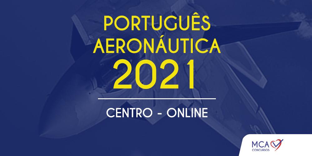 Curso Português Aeronáutica 2021 – MCA Concursos