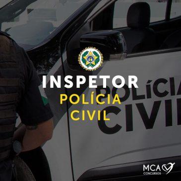 Polícia Civil – Inspetor (Online)