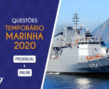 Questões – Temporário Marinha 2020