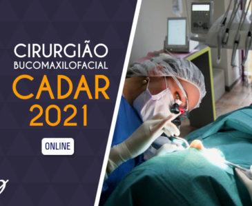 Cirurgia Bucomaxilofacial CADAR 2021
