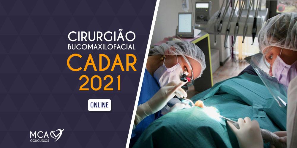 Curso Cirurgia Bucomaxilofacial CADAR 2021 (online) – MCA Concursos