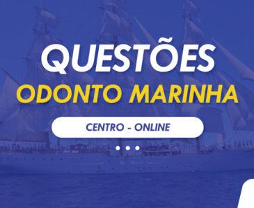 Questões Odonto Marinha 2020