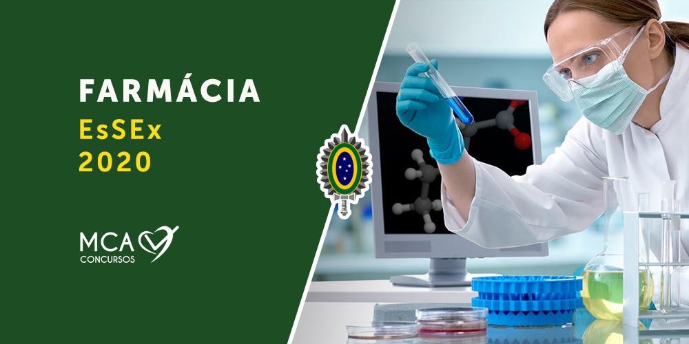 Curso Farmácia EsSex 2020 - MCA Concursos