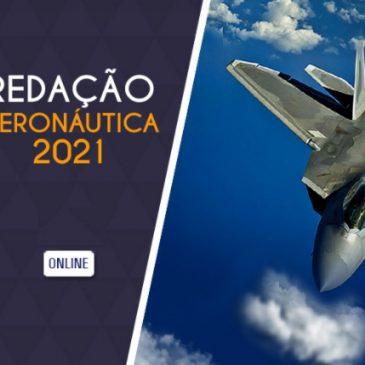 Redação Aeronáutica 2021