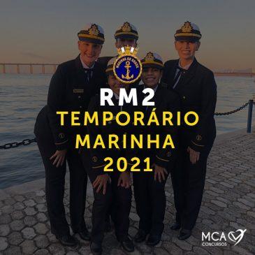 RM2 – Temporário Marinha 2021