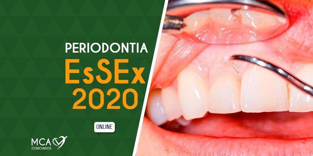 Curso Periodontia EsSEx 2020 – MCA Concursos