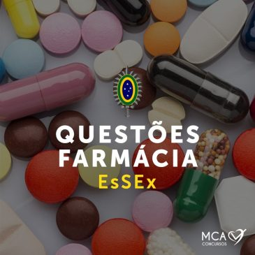 Questões Farmácia EsSEx