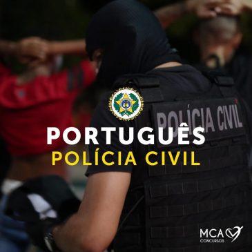 Português – Policia Civil