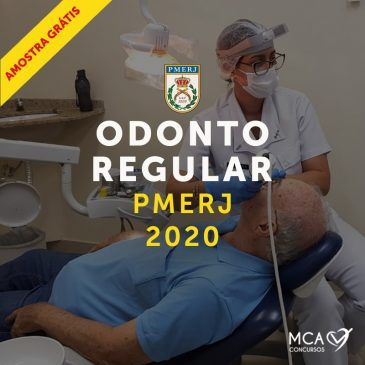 PMERJ – Odonto Regular 2020 – Online Grátis