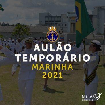Aulão Temporário Marinha 2021