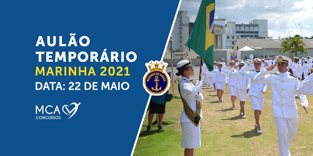Aulão Temporário Marinha 2021 - MCA Concursos