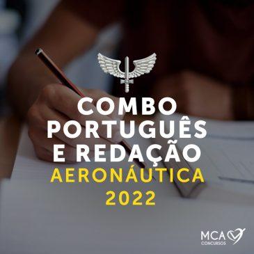 Português e Redação Aeronáutica 2022