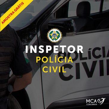 Polícia Civil Inspetor – Amostra Grátis