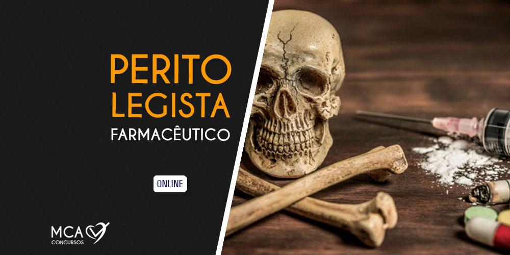 Imagem link para Curso Perito Farmácia Legista - MCA Concursos Públicos Forças Armadas e Prefeituras