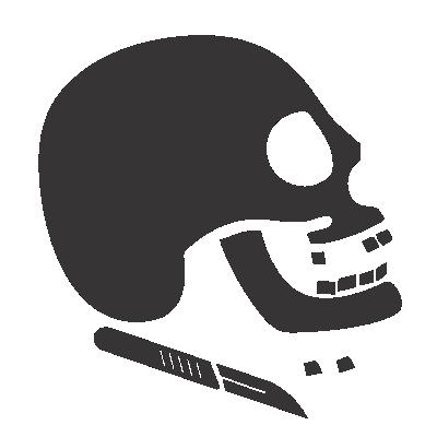 Ícone botão link para Cursos Odontologia Legal do curso preparatório MCA para concursos militares das forças armadas e prefeituras