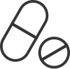 Ícone botão link para página de Toxicologia do curso preparatório MCA para concursos militares das forças armadas e prefeituras