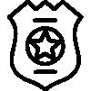 Ícone botão link para página da Polícia Civil do curso preparatório MCA para concursos militares das forças armadas e prefeituras