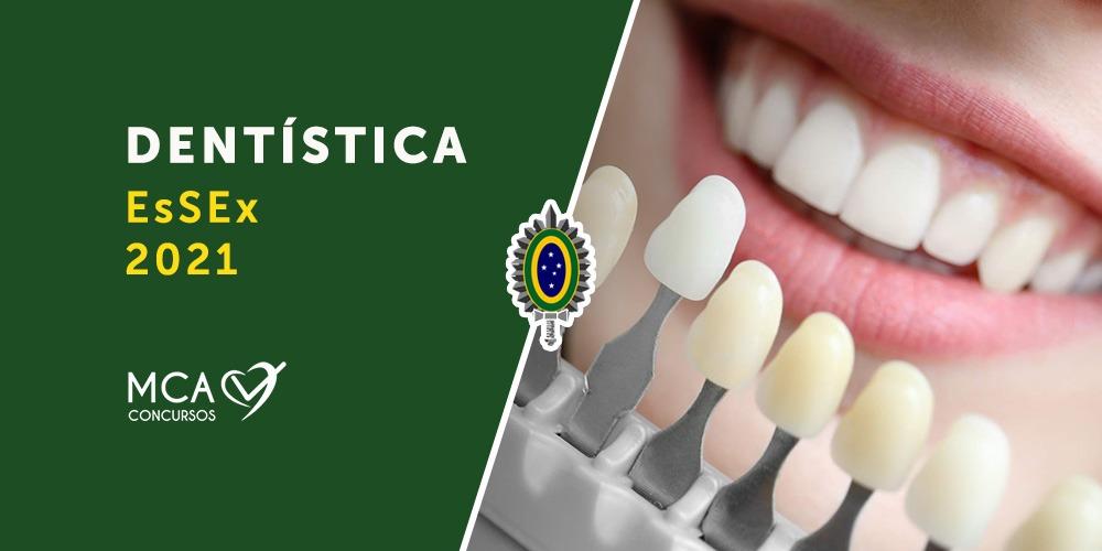 imagem link para curso dentística esfcex 2021 - MCA Concursos