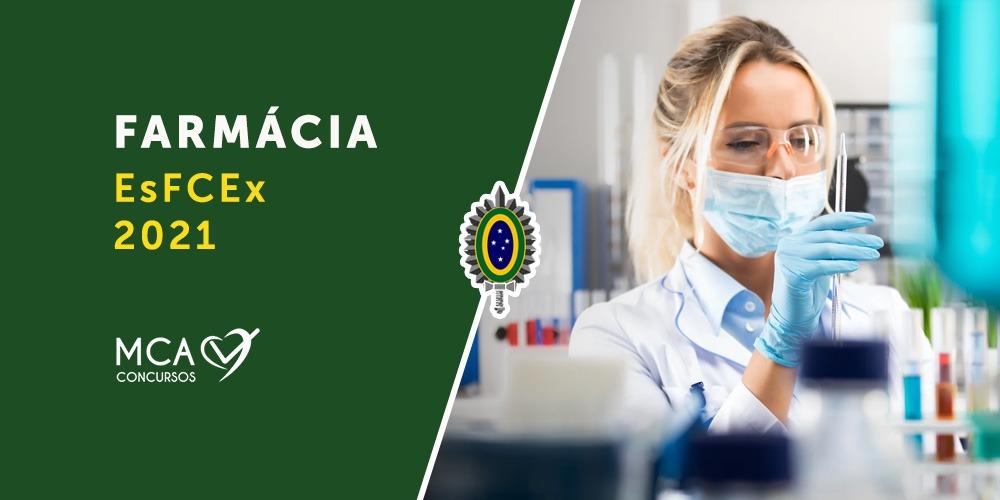 imagem link para curso farmácia esfcex 2021 - MCA Concursos