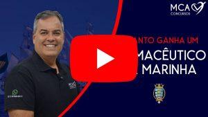 Imagem link para vídeo QUANTO GANHA UM OFICIAL FARMACEUTICO DA MARINHA