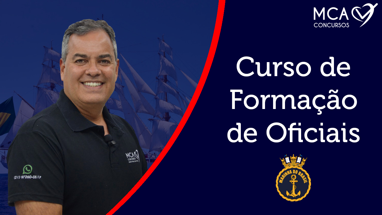 Imagem Banner Curso de Formação de Oficiais - MCA Concursos
